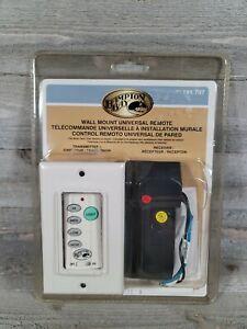 Brand New Hampton Bay Wireless Wall Mount Remote for Ceiling Fan 191-707 Free SH