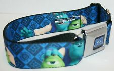 Buckle-Down Seatbelt Buckle Dog Collar Monsters Inc University - Large