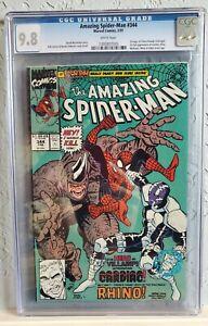 AMAZING SPIDER-MAN #344 (1991). CGC 9.8 NM/MT White 1st CLETUS KASADY (Carnage)