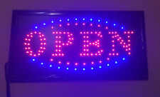 Bright Animated Motion Running Neon LED Open / SALE Sign For Business Store Shop