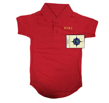 Creative Knitwear USMC Polo Body Suit335 3-6 Months