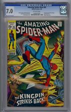 AMAZING SPIDER-MAN #84 CGC 7.0 KINGPIN APP