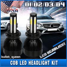 D1S D2S D3S D4S D1R D2R D3R D4R 4-Sides LED Headlight Conversion Kit HID Xenon