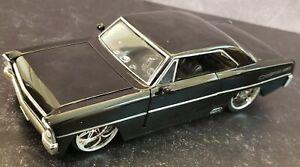 1967 Chevy Nova SS Bigtime Muscle Jada 1/24 Black #90342
