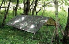 Large Basha Army Tarp Camouflage Tent Fishing Camping Hunting Emergency Shelter