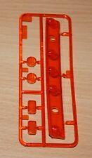 Knight hauler tamiya 56314, 0115314/0115314 L luces de piezas (Naranja/lente), NUEVO