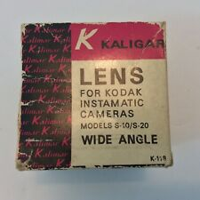 Vintage KALIGAR AUX. TELEPHOTO For KODAK Instamatic S-10/20 Lens