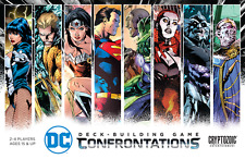 DC Comics Deck Building Game: PRESALE Confrontations (stand alone or expansion)