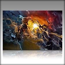 Vnartist / ORIGINAL 120cm x 80cm Abstrakt Gemälde Modern XXL Bilder 1028