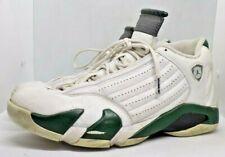 Jordan 23 Retro 14 Basketball Shoes SZ 12 White Green Black - 311832 131