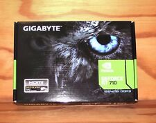 Gigabyte NVidia Geforce GT 710 PCIe Graphics Card 1 Gb (Used)