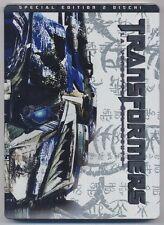 TRANSFORMERS La Vendetta del Caduto - 2 dischi special ed Steelbook DVD 253