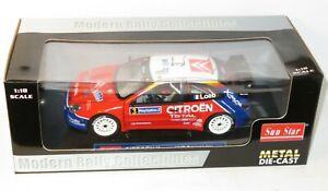 1/18 Citroen Xsara WRC   Total  Rallye de France Tour de Corse 2004  S.Loeb
