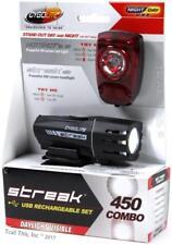 Cygolite Streak 450 Headlight & Hotshot SL50 Taillight Bike Light Combo USB
