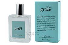 Philosophy Living Grace Fragrance 2oz /60ml EDT Spray NIB Sealed Women's Perfume