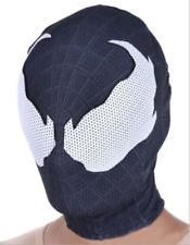 Spider-man Venom Mask Men Adult Halloween Party Cosplay Costume Hood Cos Prop @