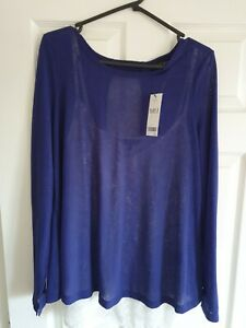 Next Tall Layered Top - New with Tags - Size 14 Tall