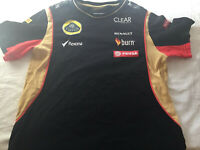 Official Lotus F1 Youth Replica T Shirt Formula One Size 11/12 (55 x 37cm)