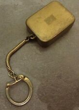 VINTAGE REUGE STE-CROIX SWISS MADE GOLD TONE MUSICAL WORKING KEY RING
