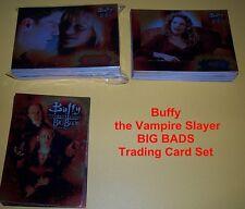 BUFFY THE VAMPIRE SLAYER - BIG BADS   Complete Trading Card Set