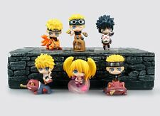 6pcs Pieces Anime Naruto Shippuden Petit Chara Land Toy Figure Series 4