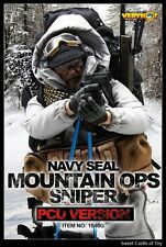 1/6 Very Hot Military Set US Navy Seal Mountain OPS Sniper PCU For Dam HT Body