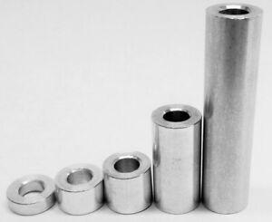 M5 Aluminium Spacers Various lengths  3mm to 40mm  for CNC Printer V-Slot