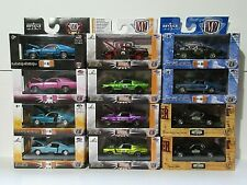 M2 MACHINES 1/64 LOT of 12 * FORD MUSTANG *