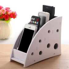 Remote Control 4 Layers Organizer TV DVD Phone Holder Stand Box Storage Case 1PC