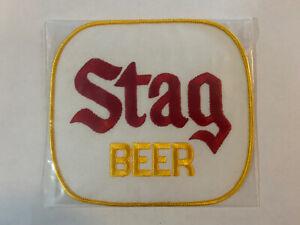 Vintage Stag Beer Patch NOS - Never Used - Nice - L@@K F3D