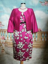 Dress and Bolero Jacket size 12 Races Wedding Guest Occasion Party Suit Outfit