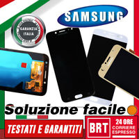 DISPLAY LCD+TOUCH SCREEN SAMSUNG GALAXY J7 2017 SM-J730F VETRO SCHERMO MONITOR