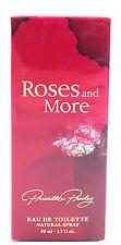 (GRUNDPREIS 99,80€/100ML) PRISCILLA PRESLEY ROSES & MORE 50ML EDT SPRAY OVP