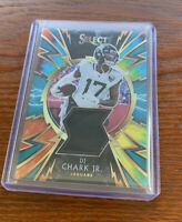 2019 Select Football Dj Chark Jr Tie Die 2material Patch /25
