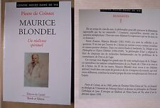 Maurice Blondel, un réalisme spirituel - Pierre de Cointet