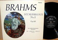 """ALSHIRE """"Audio Spectrum"""" STEREO Brahms BOULT Symphony #1 ASC-828"""
