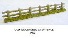 Javis PF6 x 6 BULK PACK Old Weathered Grey Fencing '00' Gauge = 1/76 Scale 1stPt
