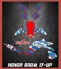 2017 Honda Grom & MSX125  SEMI CUSTOM GRAPHICS KIT Pride