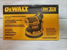 NEW IN BOX! DEWALT DCW210B 20 Volt Brushless Random Orbital Sander 20V