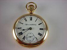 Antique original 18s Rockford Plymouth King Edward Rail Road pocket watch 1902