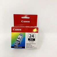 Canon 24 Black Ink Cartridge New Sealed In Box