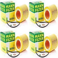 4 Pack Engine Oil Filter BMW OE# 11 42 7 541 827 / 11 42 7 566 327 MANN HU 816 X
