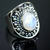 Rainbow Moonstone 925 Sterling Silver Ring Size 6 Ana Co Jewelry R989783F
