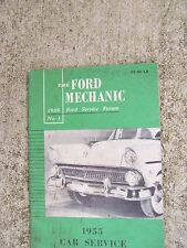 1955 Ford Service Forum Manual 1955 Car Service Features LOTS MORE IN STORE   R
