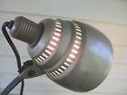 DESK LAMP industrial ADJUSTABLE iron ARM bakelite General Electric STEAMPUNK