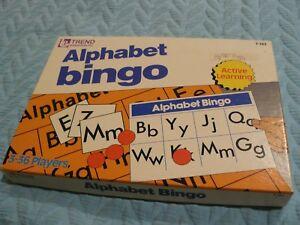 Vintage NEW ALPHABETIC BINGO home schooling Educational FUN Learning - $7 OFF