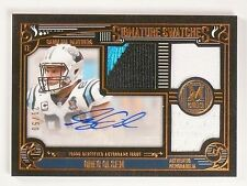 2015 Topps Museum Collection Greg Olsen Triple Patch Autograph 21/50 SSTRGO *532