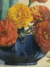 Oil Floral Signed Art Paintings