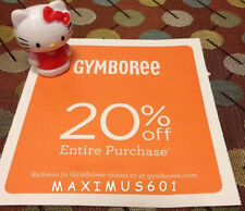 Gymboree 20% Off Entire Purchase Expires 6/06/17