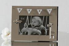 Cadre Photo Cadre Photo moderne bébé en Métal pour les photos au format 10x15 cm
